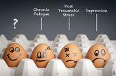 Psychische gesundheit-konzept — Stockfoto