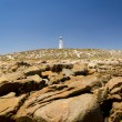 Lighthouse and Rocks — Stock Photo