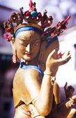 Buddhistické sochy — Stock fotografie