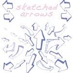 Arrows Sketched — Stock Vector #23393718
