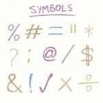 Постер, плакат: Symbols