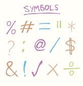 Símbolos patrios — Vector de stock