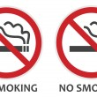 No Smoking Sign — Stock Vector #25777381