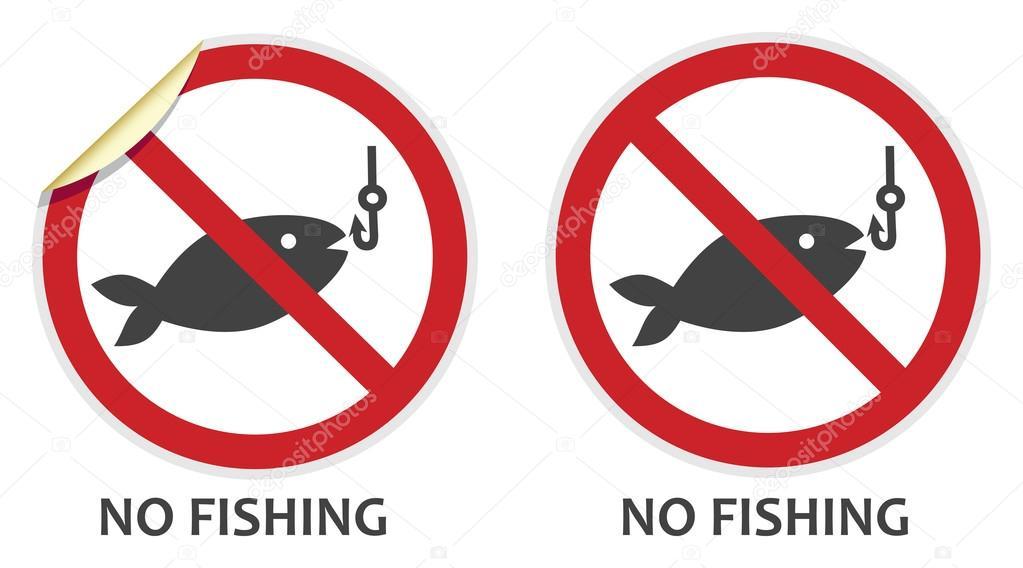 запрещено ловить