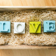 Stock Photo: Love Letters