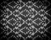 Vintage Fabric Black and White — Stock Photo
