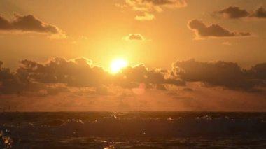 Ocean Sunrise — Stock Video