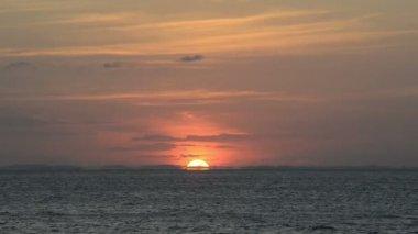 Sunset Horizon — Stock Video