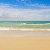 Blue Sky Beach — ストック写真