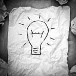 concetto di idea creativa — Foto Stock