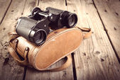 Old Binoculars Filtered — Foto Stock