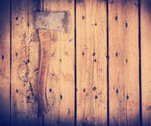 筛选的旧斧子 — 图库照片