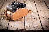 Old Binoculars — Stockfoto