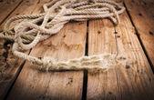 Frayed Rope — Stock Photo