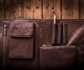 Business Briefcase Bag — Stock Photo