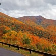 Panoramof Blue Ridge Parkway in Autumn — Stock Photo #30818087