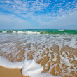 Beach waves — Stock Photo