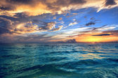 Tropical Beach sunset — Foto Stock