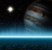 Jupiter in Space — Stock Photo