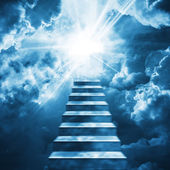 Stairs to heaven — Stock Photo