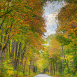 Colorful road — Stockfoto