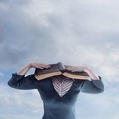 Bibli hlava — Stock fotografie