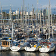 Royalty-Free Stock Photo: Yachts in Barcelona