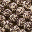 Stock Photo: Handmade chocolates ball
