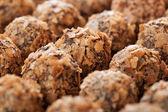 Domácí čokolády míč — Stock fotografie