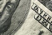 One hundred dollars — Stock Photo