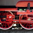 Steam train wheels — 图库照片 #12033245