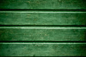 Vieux fond de cloison en bois vert — Photo