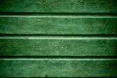 古い緑の木製の壁の背景 — ストック写真
