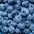 Wet blueberries background — Stock Photo #12107108