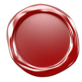 Wax seal — Stockfoto