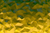 Yellow crystal background — Stock Photo