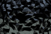 Black crystal background — Stock Photo