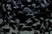 Sfondo nero cristallo — Foto Stock