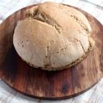 Organic bread close up — Stock Photo
