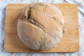 Organic bread close up — Stock Photo