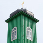 Tatar's church tower — Stock Photo
