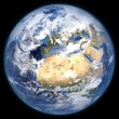 Rendered three dimensional earth — Foto Stock