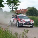 ������, ������: Rally car race in 71st Rally poland in Mikolajki Poland