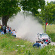 ������, ������: Rally car race in 71st Rally poland in Mikolajki Poland