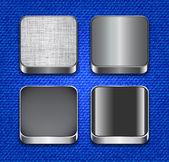アプリ アイコン テンプレート — ストックベクタ