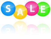 Prodej ikony — Stock vektor