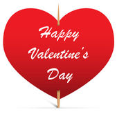 Valentine note — Stock Vector