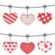 Valentine hearts — Stock Vector #18680537
