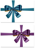 Gift ribbons — Stock Vector