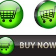 Stock Vector: Buy now buttons
